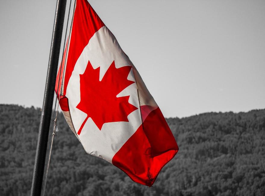 Canadian flag Canada Day